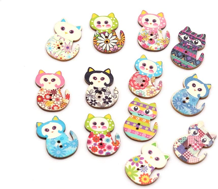 Sewing//Textiles//Jewellery Making// Doll Crafts 10 Wooden Hand-shaped Buttons