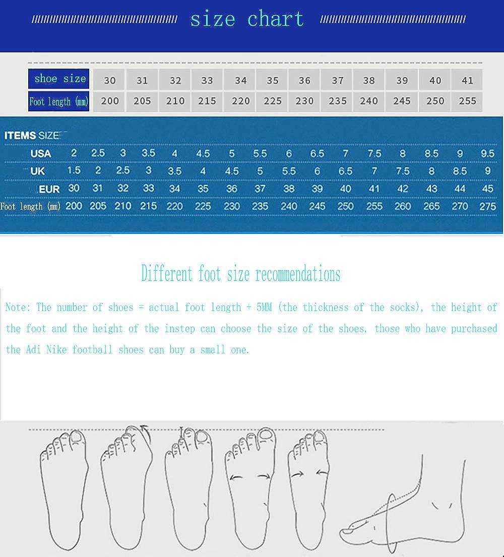 Zapatos de f/útbol halc/ón de Alta Parte FG Zapatos de Entrenamiento de Hierba Natural