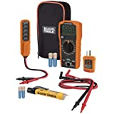 Digital Multimeter Electrical Test Kit, Non-Contact Voltage Tester, Receptacle Tester, Carrying Case and Batteries Klein Tool