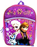 Frozen Backpack with Lower Front Pocket, 16' (Colors May Vary)