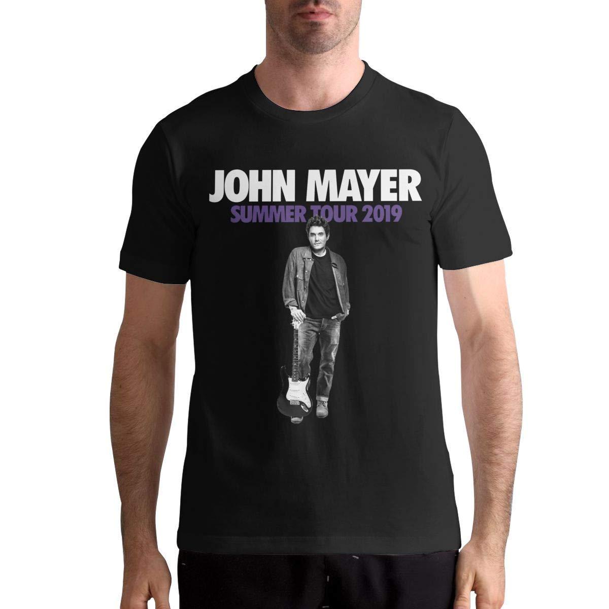 John Mayer T Shirt S T Shirt Fashion Sports Tops Round Neck Short Sleeve Tee