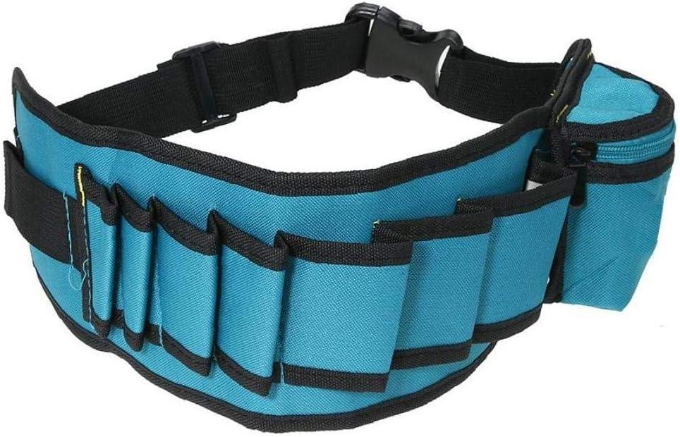 Cintur/ón Ajustable Bolsa Electrian Cintura Cintur/ón De Herramientas Multibolsillos Herramienta De Trabajo del Carpintero Holder Bolsas De Herramientas