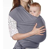 Lictin Fular Portabebés Elástico Portador de Bebé ;Pañuelo de algodón;Unisex;Para padres