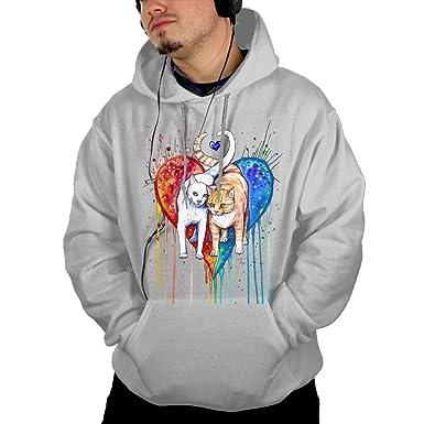 TAVJCFW Fashion Design Men\'s Painting Ideas Hoodie Black Winter at ...