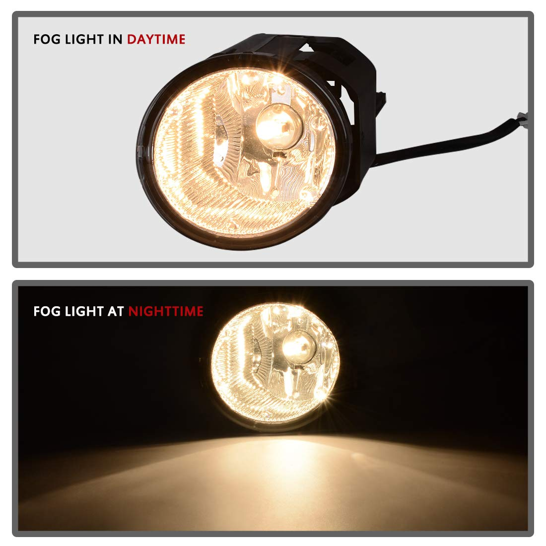 Autosaver88 Fog Lights H3 12v 55w Halogen Lamp For 2016 Nissan Maxima Wiring Diagram Sentra 2000 2003 Frontier 2001 2004 Xterra 2002 Clear Lens W Bulbs Harness Automotive