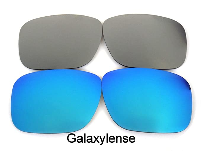 Galaxy lentes de repuesto para Oakley Holbrook Azul y gris Color Polarizado 2 Pares,LIBRE