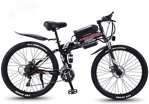 Bicicleta de montaña eléctrica Plegable para, Bicicletas de Nieve ...
