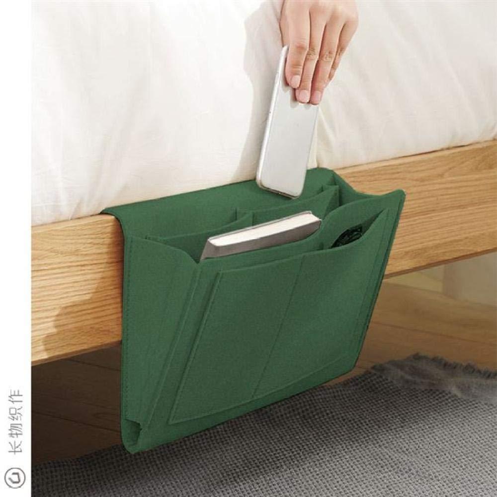 CHIFEIKEEP Bedside bed pocket Nordic Notebook Comodino Borsa Comodino Appeso Borsa Divano Lato Feltro archiviazione Semplice Camera da Letto Camera da Letto di archiviazione Digitale