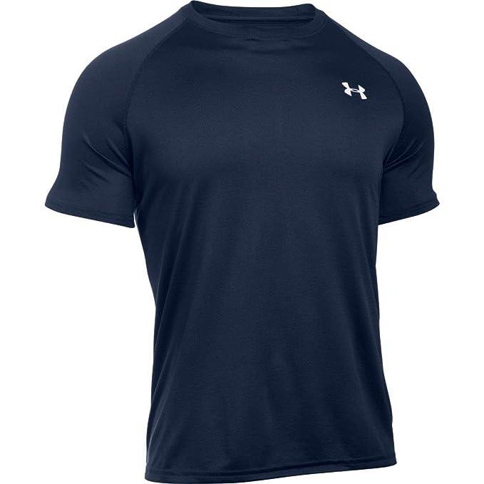 Amazon.com: Under Armour Mens UA Tech™ Short Sleeve T-Shirt Extra Extra Large Midnight Navy: Sports & Outdoors