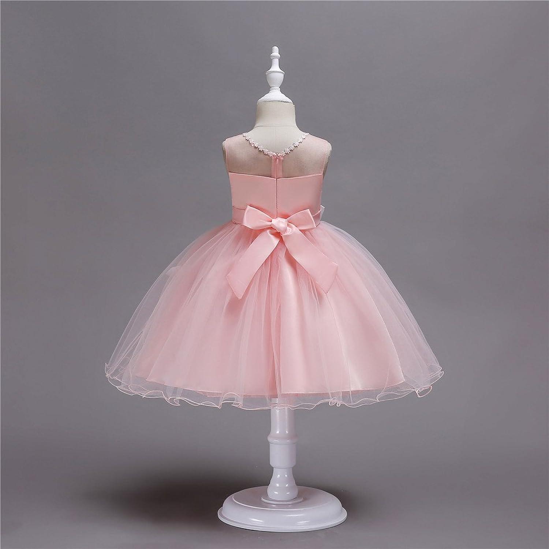 Amazon.com: KISSOURBABY 2-14 Years Girl Wedding Party Graduation Dresses: Clothing