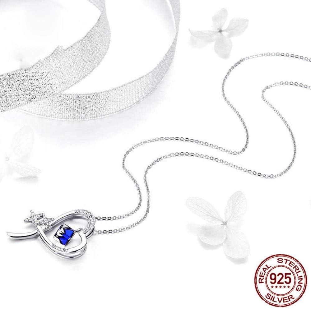 Crystal Diamonds Love Heart Pendant Statement Necklace Fashion Class Women Girls Lady Elements-AS Show/_26