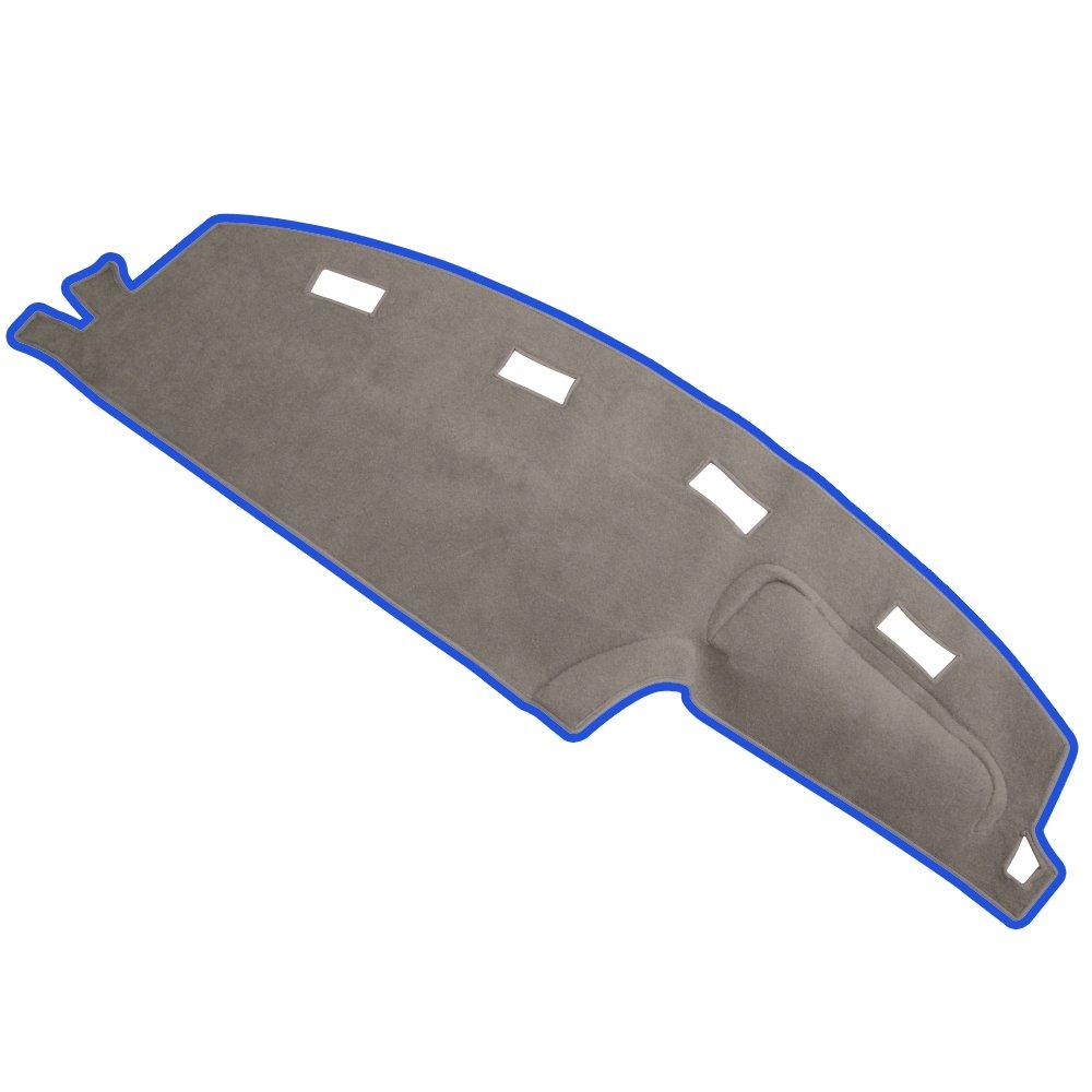 Gry JIAKANUO Auto Car Dashboard Carpet Dash Board Cover Mat Fit Dodge RAM 1500 2500 3500 1994-1997