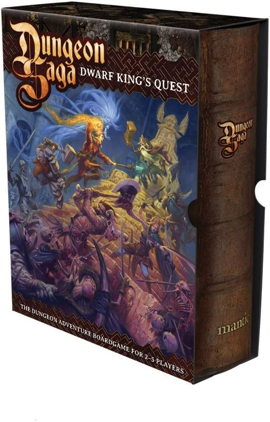 Mantic Games Dungeon Saga: Dwarf Kings Quest by
