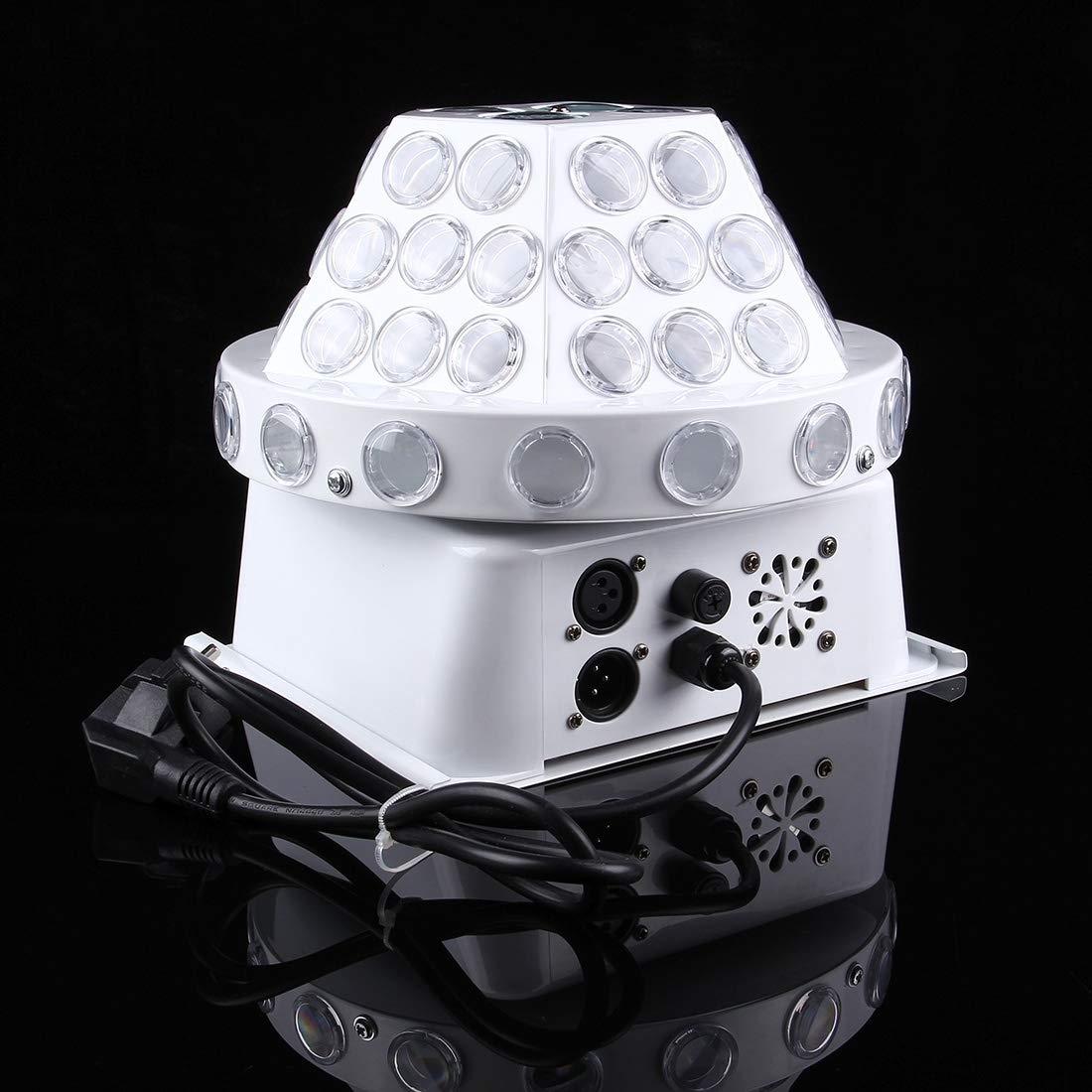 stage lighting 30W Mushroom Magic Ball LED Crystal Light, Master/Slave / DMX512 / Auto Run/Sound Control Modes, AC 220V by stage lighting (Image #4)