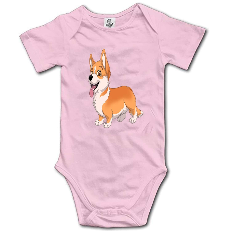 Infant Bodysuit Fair Corgi Short Sleeve 100/% Cotton