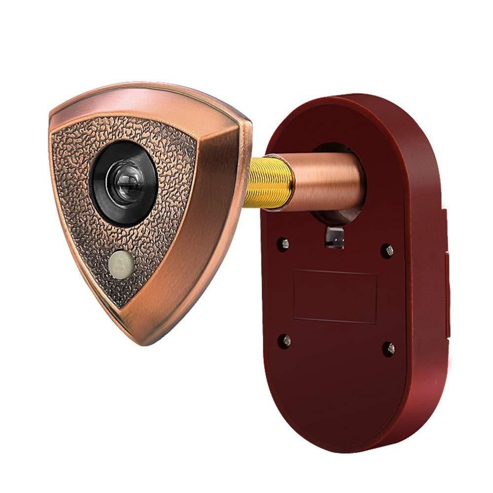 WJTZ-FYH Home doorbell cat eye with 26 ringtones 2-in-1 door mirror metal security door peephole mirror, A3 by WJTZ-FYH (Image #1)
