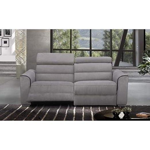 ITALIAN SPIRIT Confort Loft - Sofá 2 plazas Relax eléctrico ...