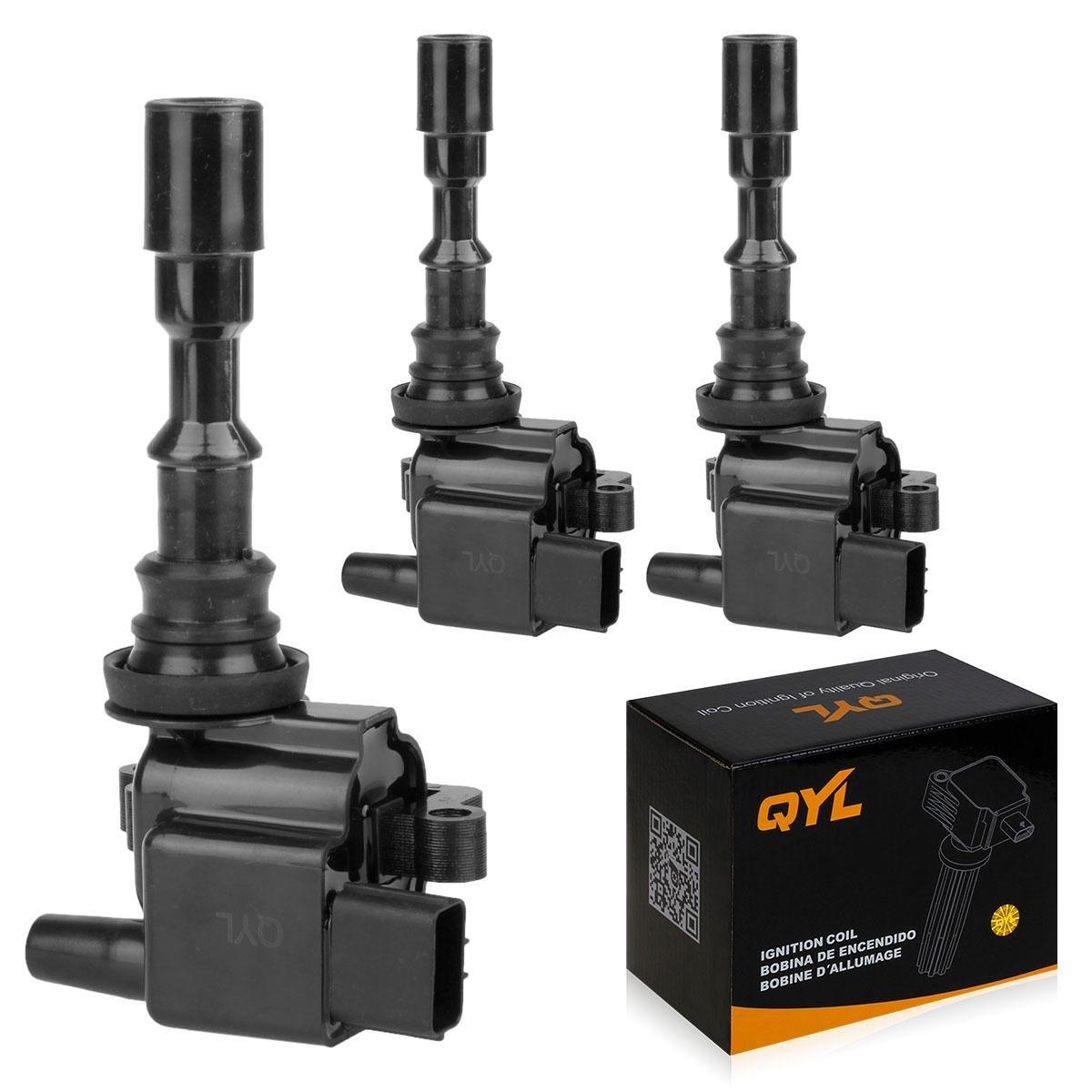 3pcs Ignition Coil Pack Replacement for 02 03 04 05 Kia Sedona 01 02 Hyundai XG300 XG350 3.0L 3.5L V6 UF432 5C1159 C1353 UF-432 QYL