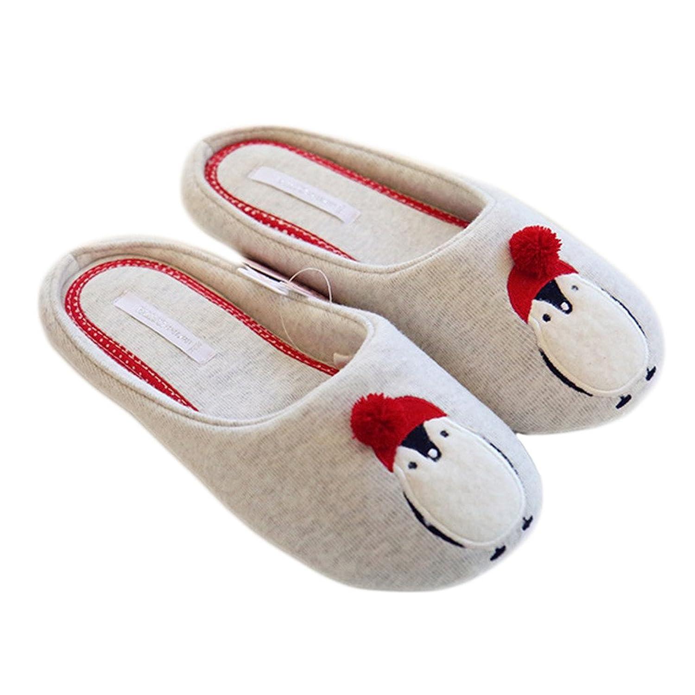 ELE GENS Damen Mädchen Pantoffel Hausschuhe Pantoffeln Slipper Hauspantoffeln Anti-rutscht Warm Winter Herbst (38-39) pYgotfw