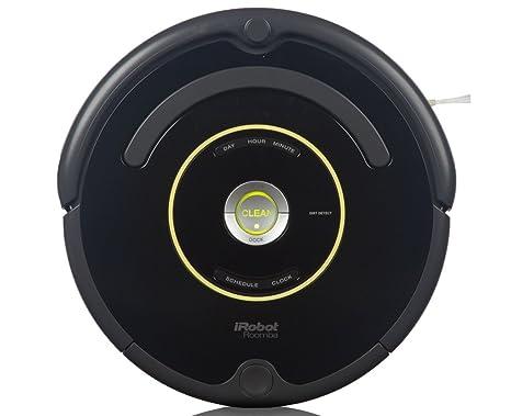 iRobot Roomba 650 Robot Aspirador, Alto Rendimiento de Limpieza, Programable, Atrapa el Pelo de Mascotas, 33 W, 33 Decibelios