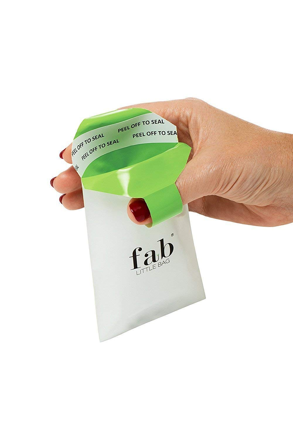 Fab Little Bag Saver with 200 Disposable Biodegradable Feminine Hygiene Product Bags by Fab Little Bag