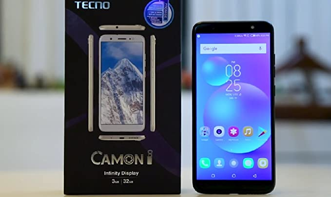 Tecno Camon I (3 GB RAM + 32 GB ROM) Midnight Black