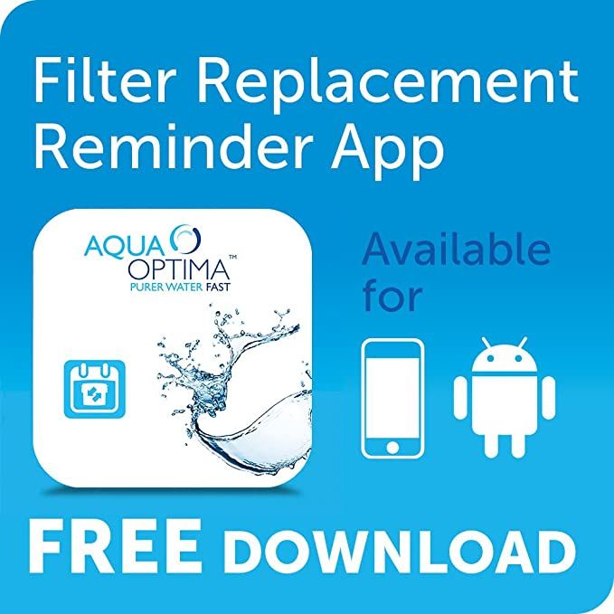 Aqua Optima Compact - Jarra filtrante, 2,1 l, color blanco