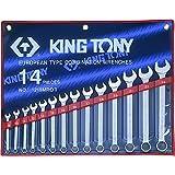 KING TONY 1215MRN01 Trousse de 14 Clés Mixtes