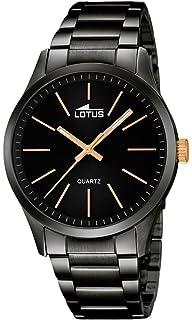 21f86e0adef1 Lotus Reloj Analógico para Hombre de Cuarzo con Correa en Acero Inoxidable  18162 2