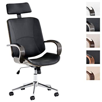 Clp Chefsessel Dayton Mit Kunstlederbezug I Bürostuhl Mit Kopfstütze