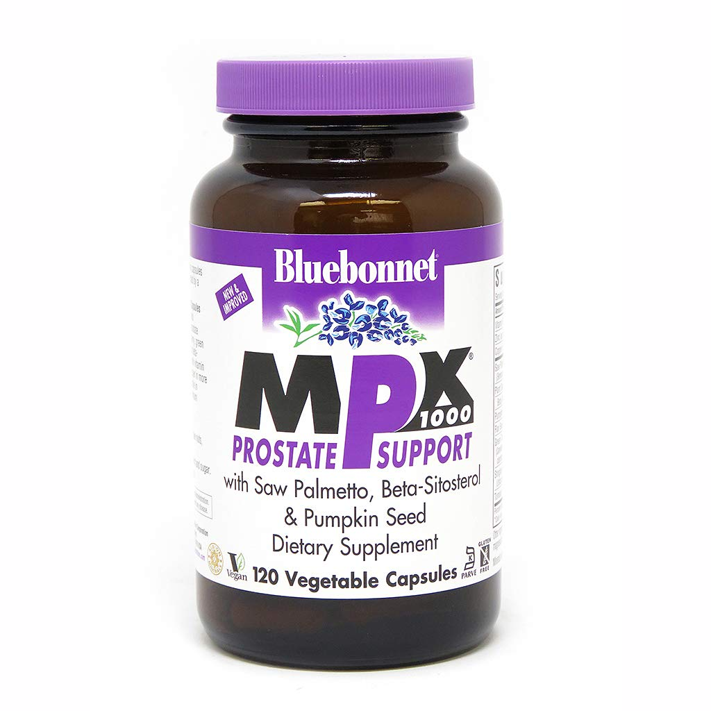 BlueBonnet MPX 1000 Prostate Support Supplement, 120 Count