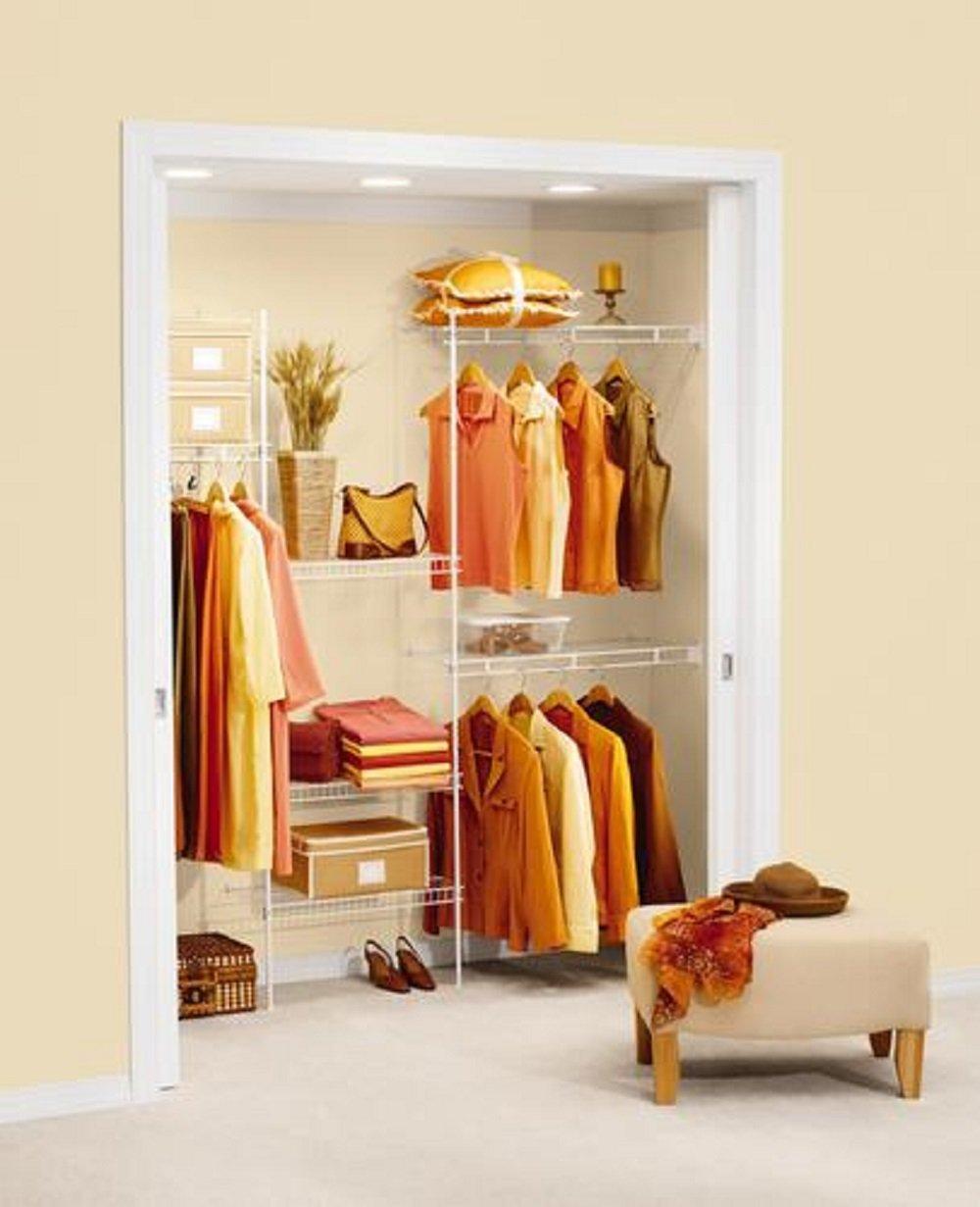 Rubbermaid Closet Organizer 5' - 8' - White