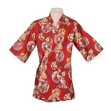 Ropa de trabajo japonesa Chaqueta de cocinero Kimono Sushi Restaurant Bar Hospitality Uniforms, # 07