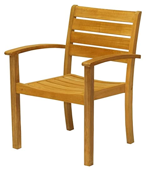 Amazon.com: Tres Aves Casual Sedona Stacking sillones ...