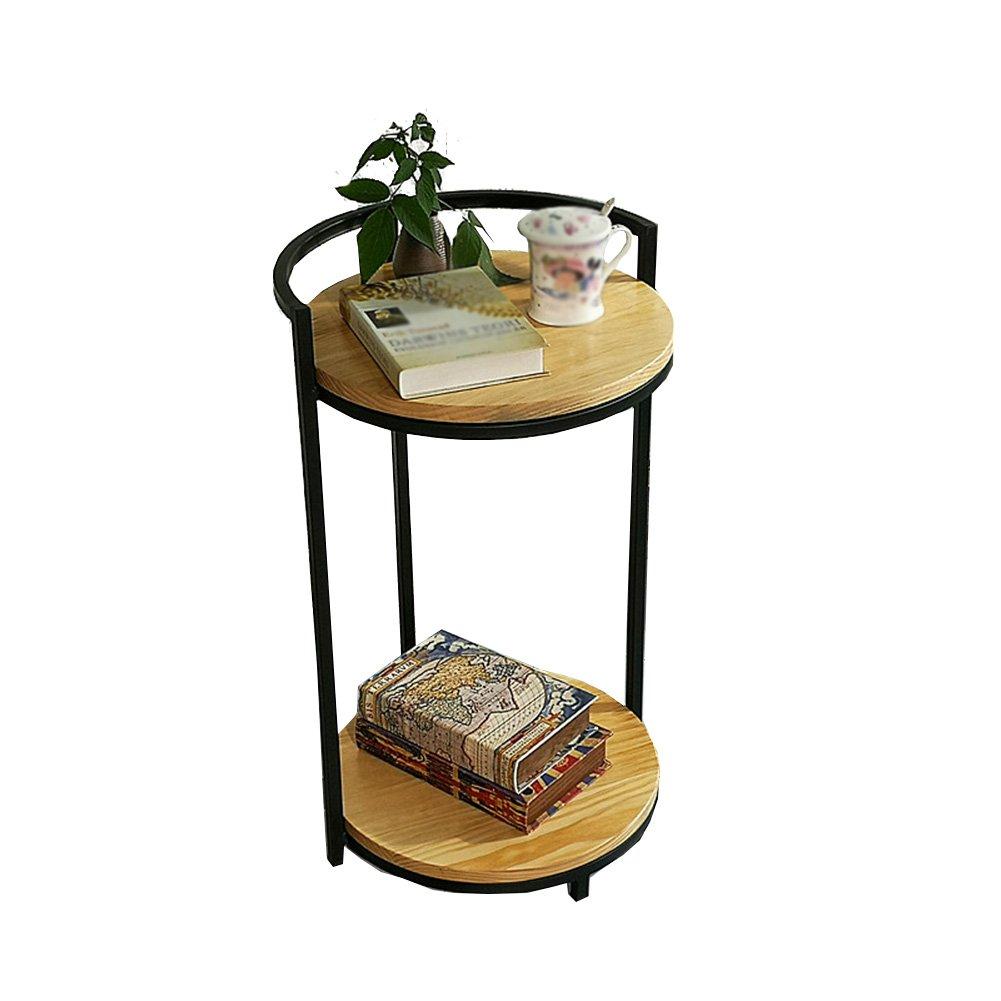CSQ テーブル、コーヒーテーブル、サイドテーブル、ソファサイドテーブルベッドサイドテーブルライティングデスクドレッシングテーブルダイニングテーブル木製サイドテーブル40 * 40 * 70CM コーヒーテーブル (色 : A) B07DPG713FA