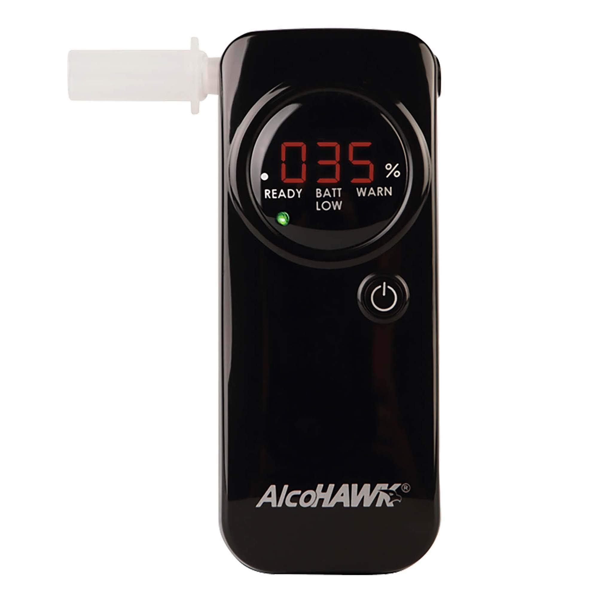 AlcoHAWK Pro FC Fuel-Cell Breathalyzer, Digital Breath Alcohol Tester