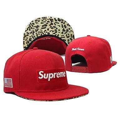 1ab4bf9c99e WAKNOER Supreme Men s Hat,Supreme Baseball Cap  Amazon.co.uk  Clothing