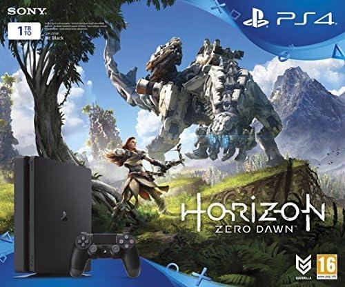 Sony PlayStation 4 + Horizon Zero Dawn Negro 1000 GB Wifi ...
