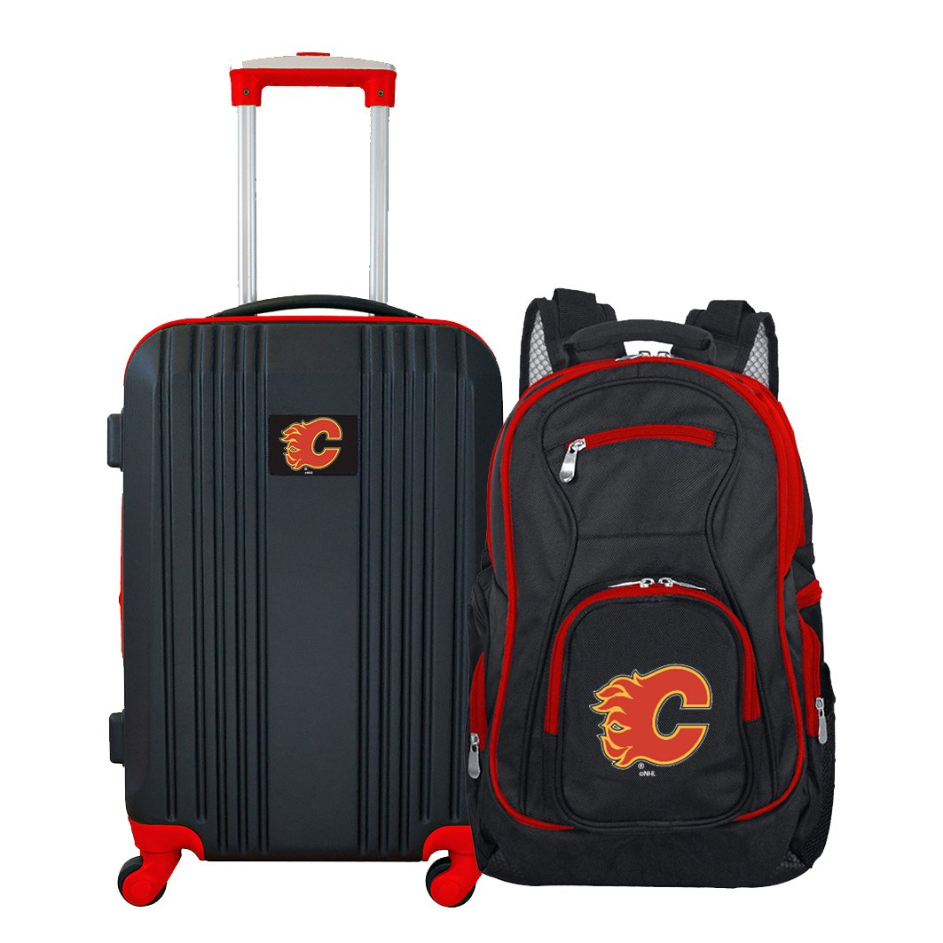 NHL Calgary Flames 2-Piece Luggage Set