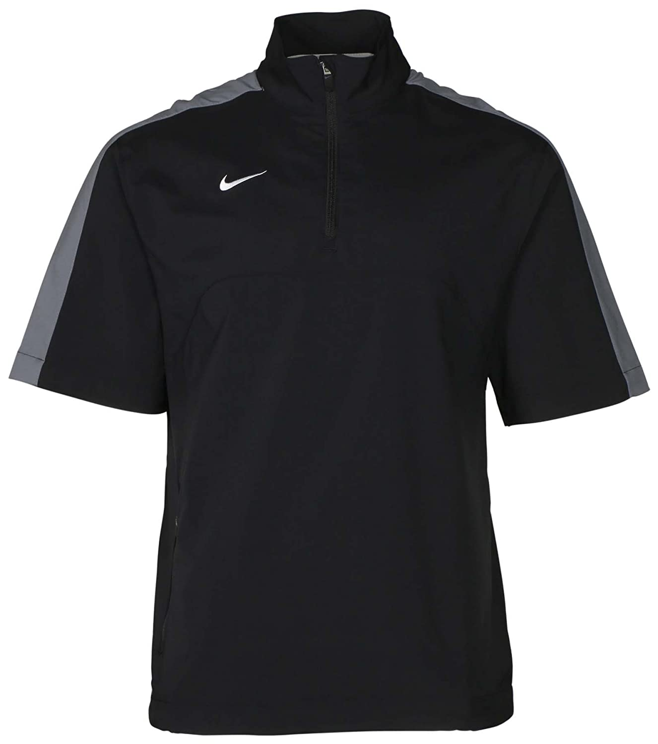 Nike Men's Dri-Fit 1/4 Zip Short Sleeve Training Jacket at Amazon ...