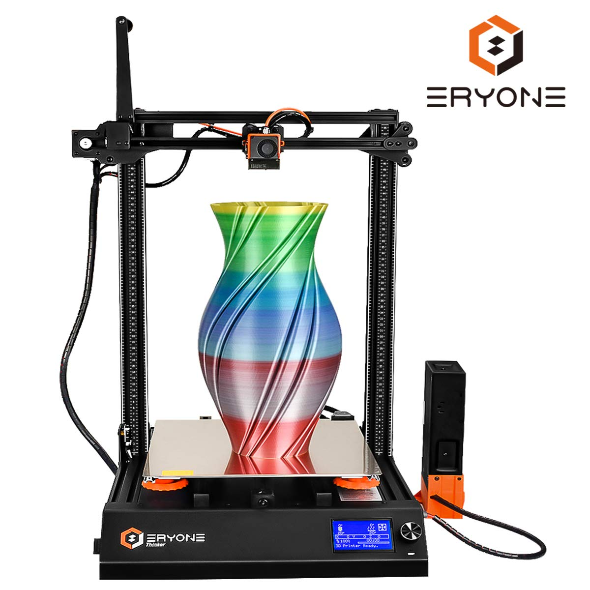Impresora 3D Eryone Thinker S, Superficie de Impresión PEI ...