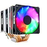 Snowman X6 (AMD/Intel Uyumlu) CPU Soğutucu Rainbow Fan