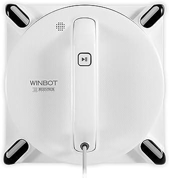 Ecovacs Winbot 950 Robot Limpia Ventanas 62 Decibeles, Blanco: Amazon.es: Hogar