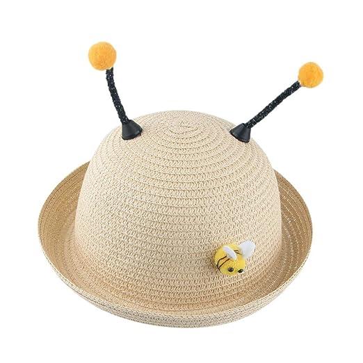 Girl's Accessories New Fashion Cartoon Colorful Fish Design Children Sun Straw Hats Kids Summer Bucket Cap