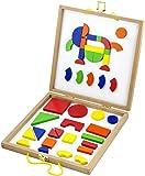 Viga Toys - 59687 - Magnetic Shapes & Box