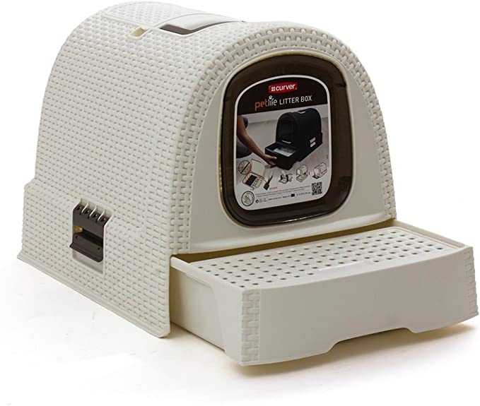 Curver 198849 - Caja de aseo para mascotas, color blanco: Amazon ...