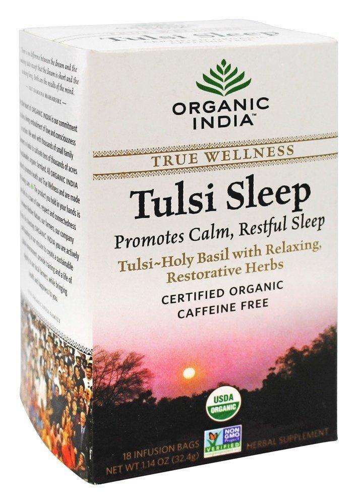 Organic India Tulsi Wellness Sleep Tea, 18 Count