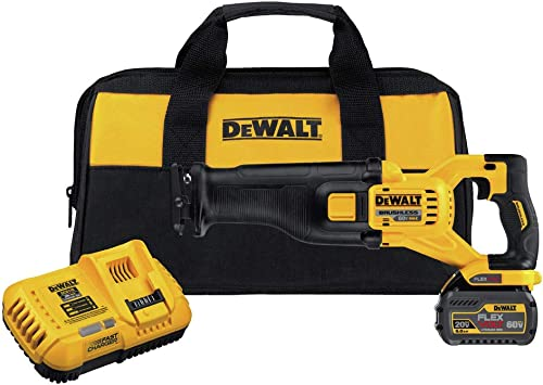 Dewalt DCS388T1R 60V MAX Cordless Lithium-Ion Reciprocating Saw Kit with FlexVolt Battery Renewed