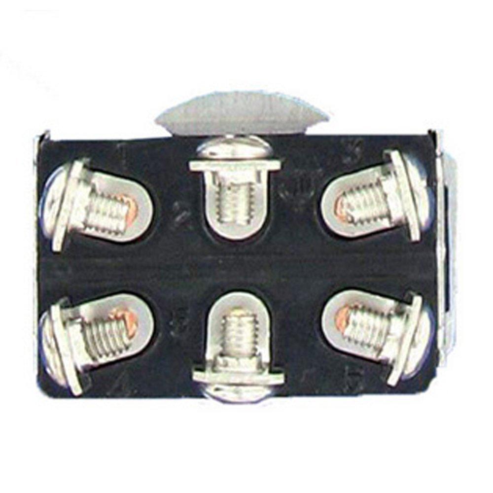 Mintice/™ 5 X Interrupteur Inverseur /à Bascule Levier en M/étal ON//OFF//ON 3 Terminal Pin SPDT Poids Lourd 20A 125V 15A 250V Voiture Moto bouton casquette