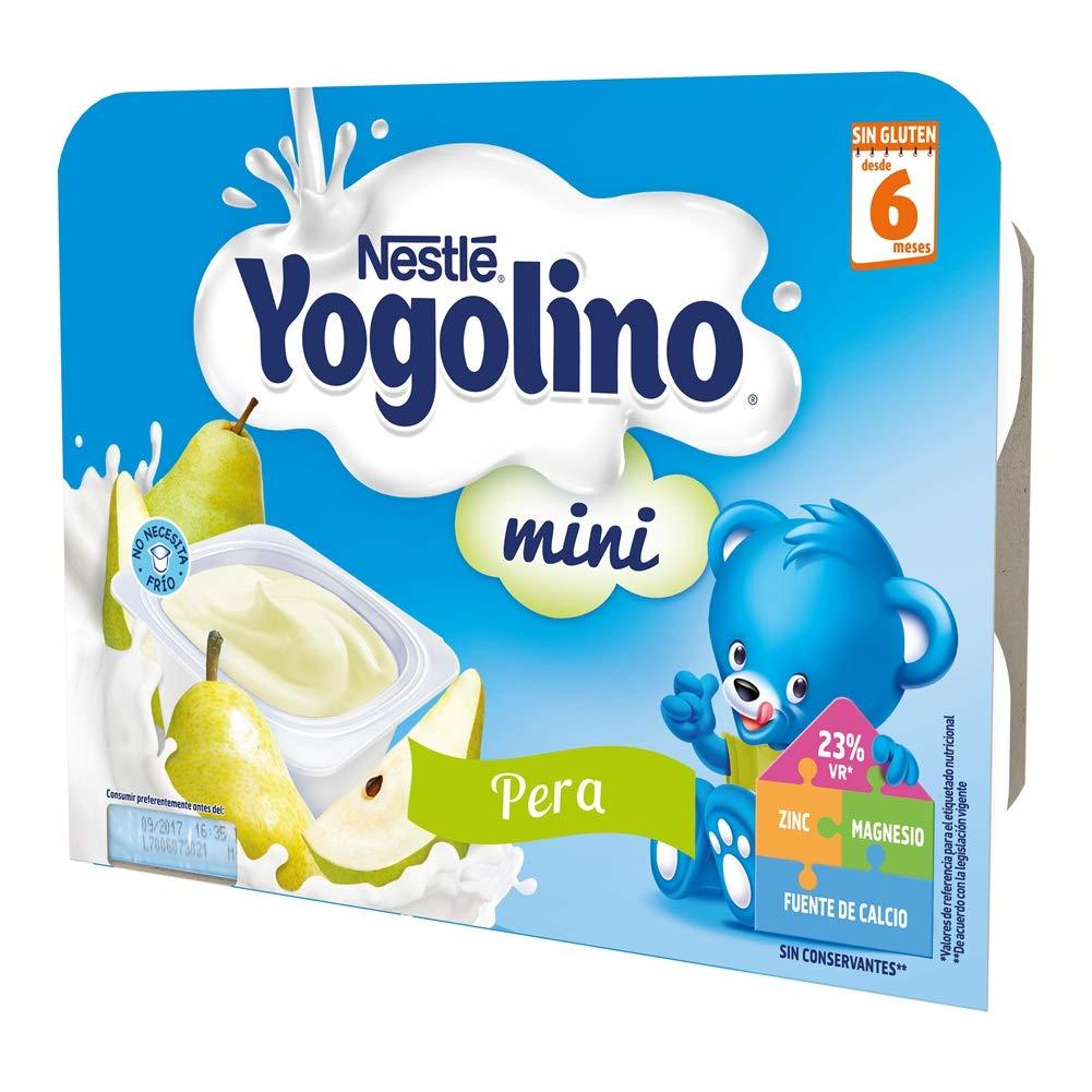 NESTLÉ YOGOLINO Mini, con Pera, para bebés a partir de 6 meses: Amazon.es: Amazon Pantry